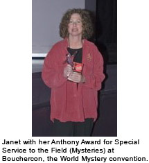 Janet Rudolph Anthony Award Winner